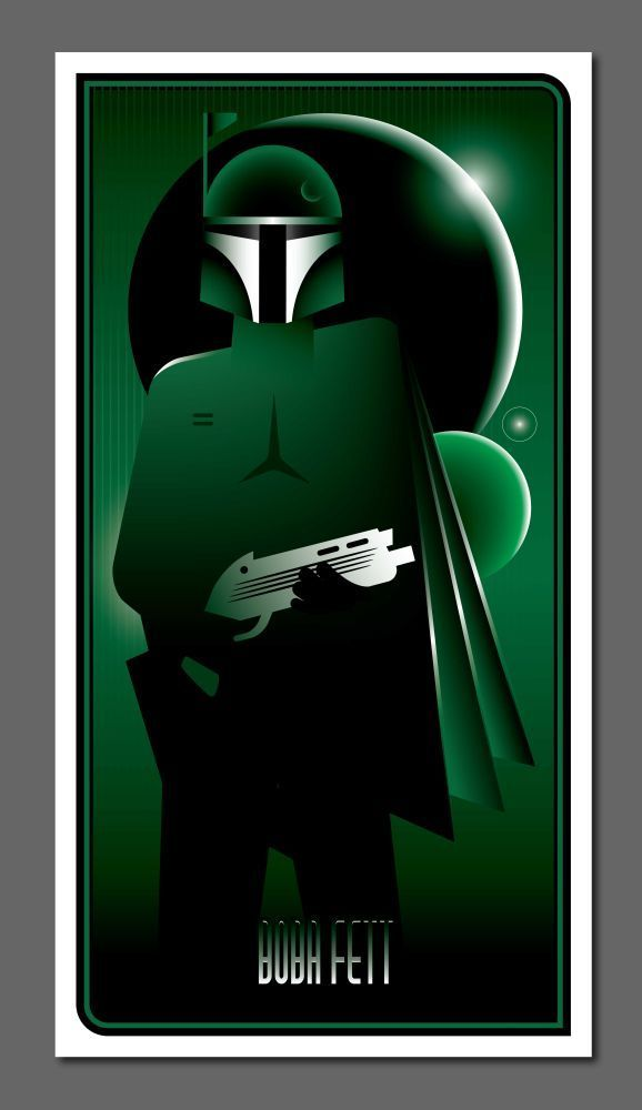 9 posters Star Wars très design #3