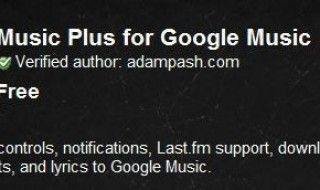 2 extensions indispensables pour Google Music