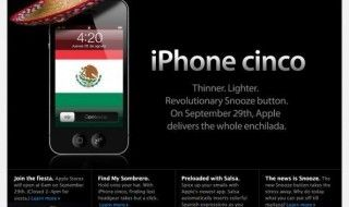 Un iPhone Cinco sera lancé fin septembre, avant l'iPhone 5