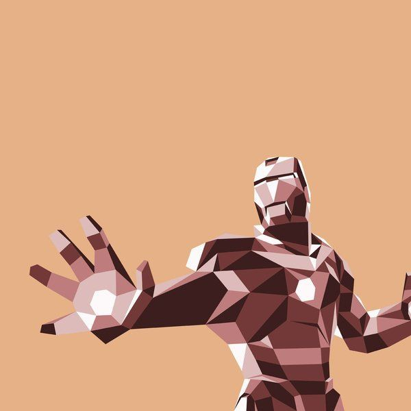iron-man-polygones