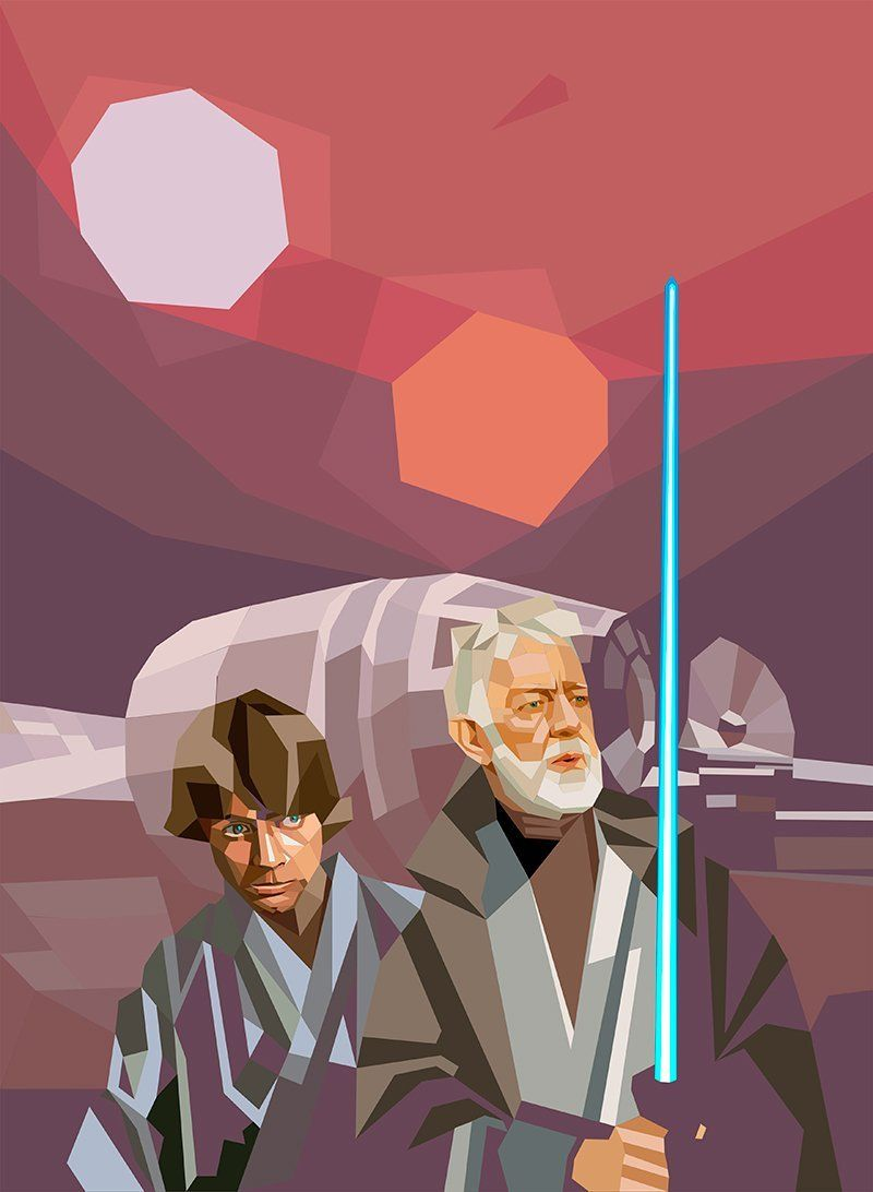 star-wars-polygones