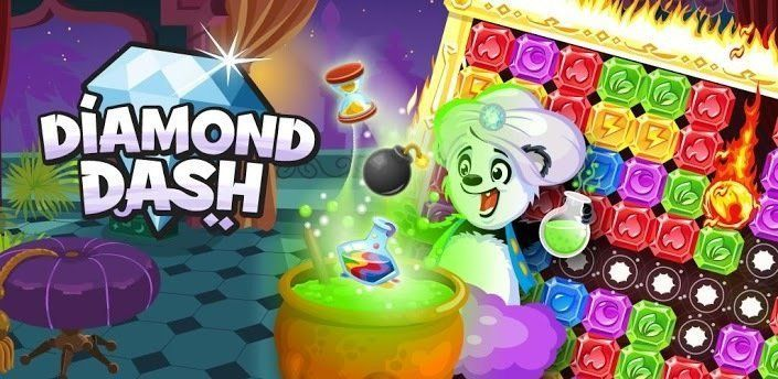 Diamond Dash : la ruée vers les diamants
