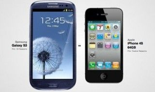 Publicité comparative : iPhone 5 vs Samsung Galaxy S3