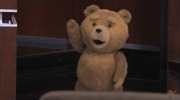 Une video promotionnelle pour le DVD Ted avec Jimmy Kimmel #1