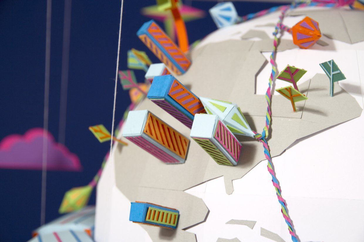 Happy Planet : Origami, Stop Motion et Ecologie