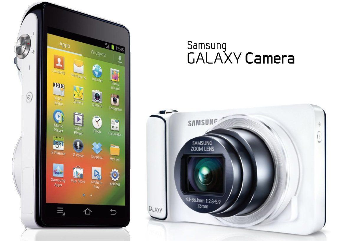 Samsung Galaxy Camera : quand une Tablette Android rencontre un appareil photo hybride