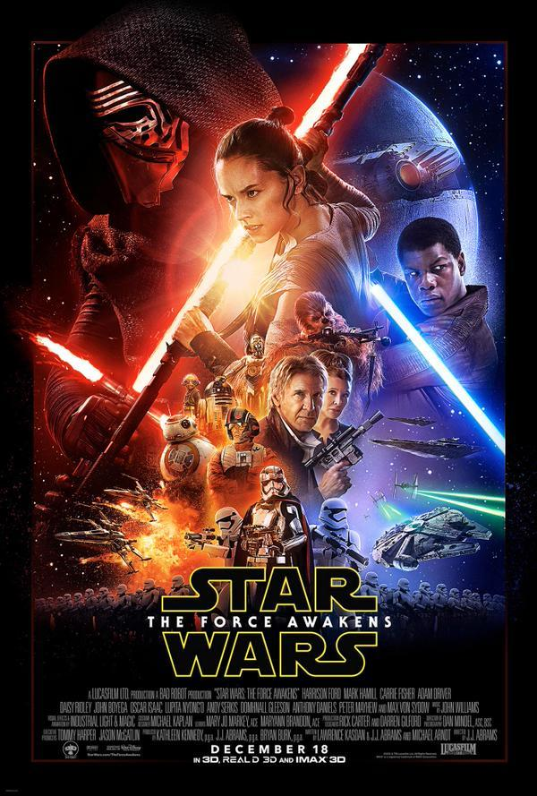 Affiche Star Wars Episode VII - Le Réveil de la Force