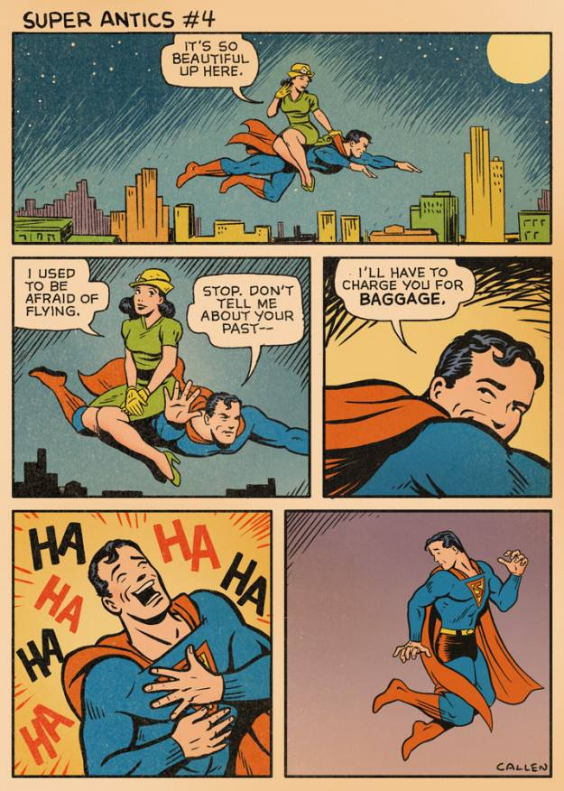 Super Antics : une parodie de Superman plus vraie que nature