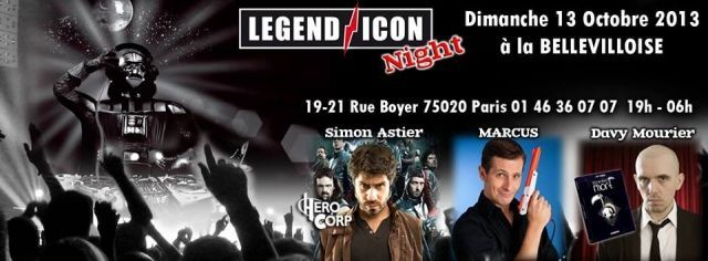 Dis, tu viens à la Legend Icon Night à la Bellevilloise ? #2