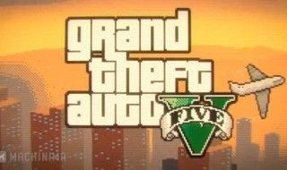 GTA V version 8 bit