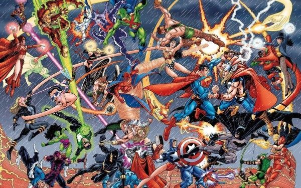 Un cross-over Marvel/DC avec Spider-Man Iron Man et Batman pour 2015 ? #1