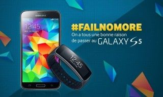 🎁 5 Galaxy S5 + 5 Gear Fit à gagner