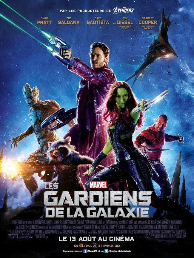 🎁 Les Gardiens de la Galaxie : 5x2 places pour la Secret Galaxy Night