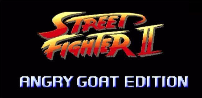 Street Fighter II Angry Goat Edition : une version hardcore du jeu