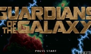 Les Gardiens de la Galaxie version 8-Bit