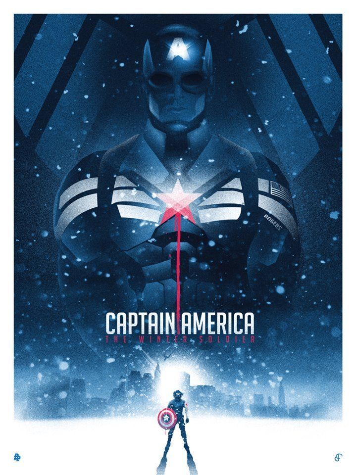 Captain America - the Winter Soldier - Patrick Connan