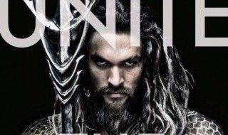 La photo officielle de Jason Momoa en Aquaman