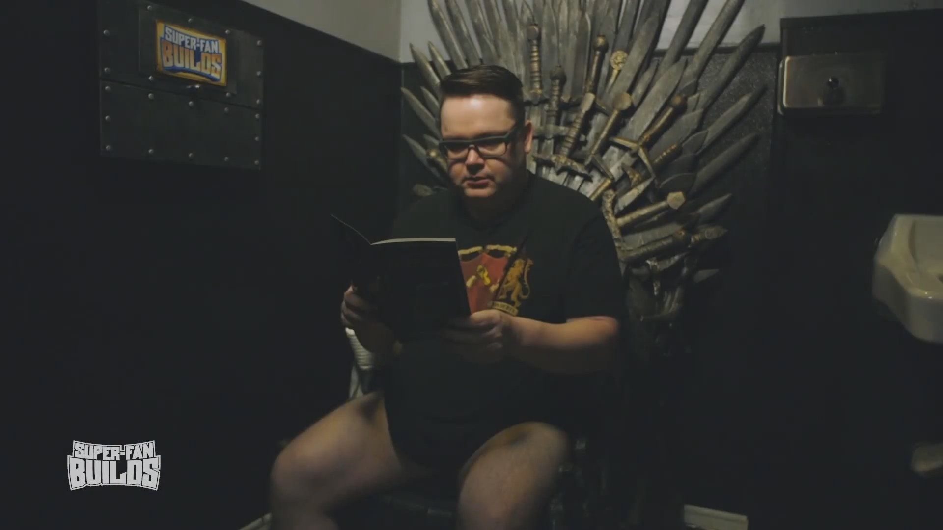 Game of Thrones Toilettes super fan build