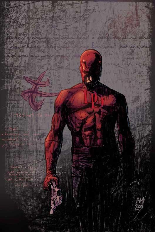 alex maleev covers daredevil 2