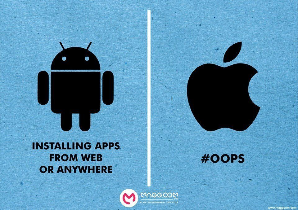 android-apple-install