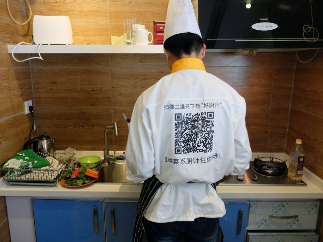 Un chef à Domicile : une application en mode Uber qui cartonne en Chine