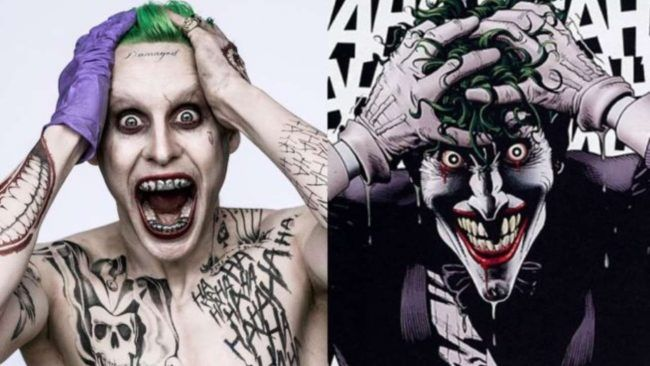 Jared Leto : une 1ère photo en Joker destroy et tatoué #2