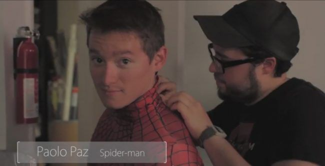 Making-of : la fausse Post-Credits d'Avengers L'Ere d'Ultron avec Spider-Man #2