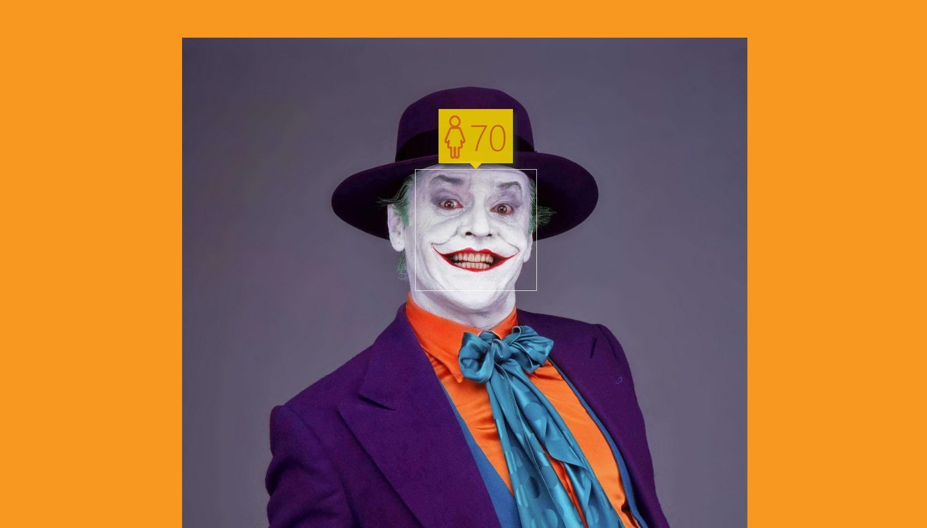 Jack Nicholson joker age microsoft how old