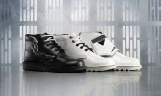 Kickers lance sa collection de chaussures Star Wars