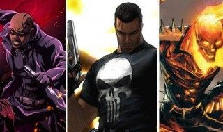 Les prochaines séries Marvel/Netflix : Punisher, Blade, Ghost Rider, Hawkeye & Black Window