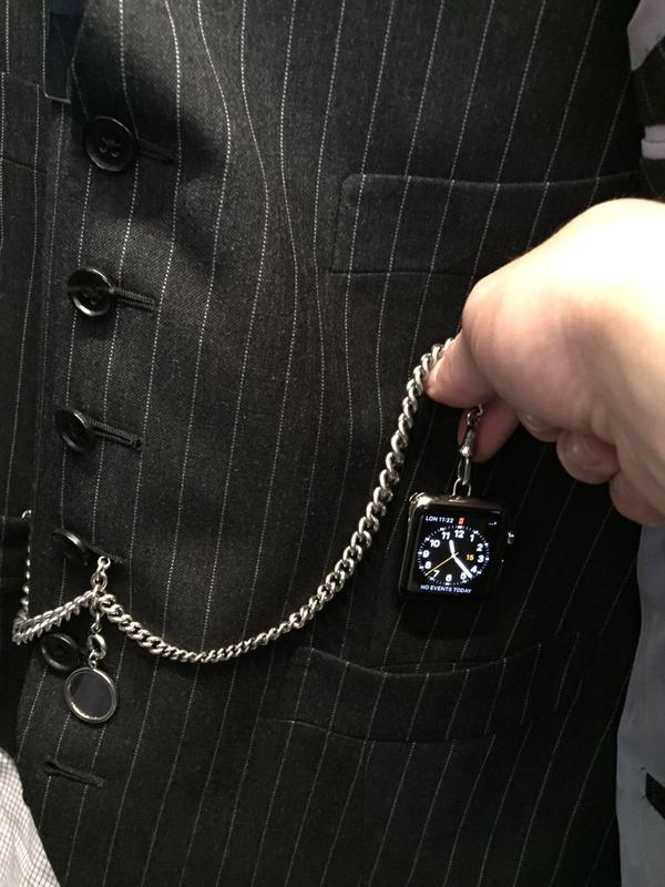 Une Apple Watch à Gousset par Tom Ford #1