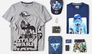 Celio* lance une superbe collection de T-Shirts et de goodies Star Wars
