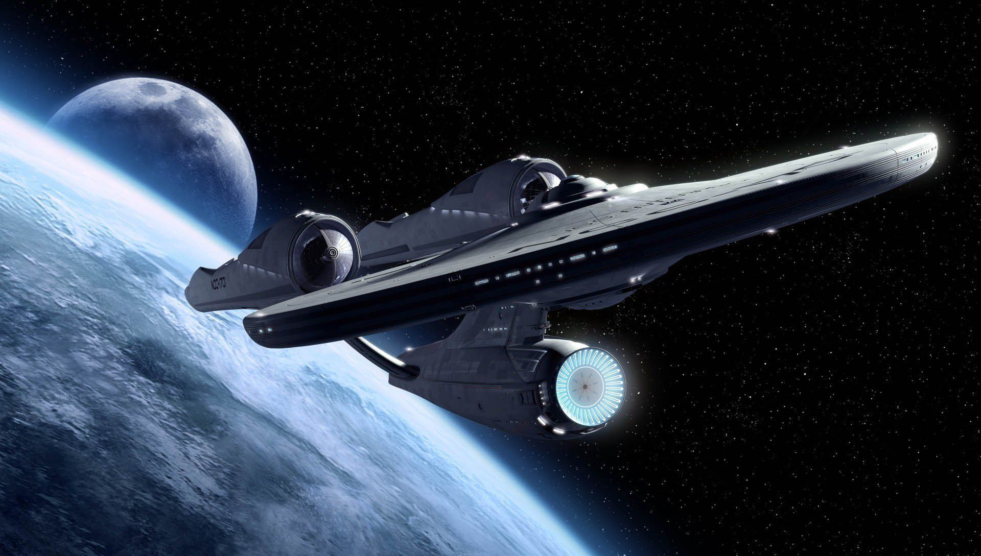 Fan de Star Trek, il construit son siège social en forme d'USS Enterprise #1