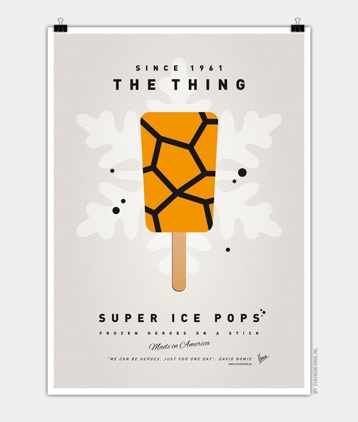 My-SUPER-ICE-POP la chose quatre fantastiques ben grimm marvel