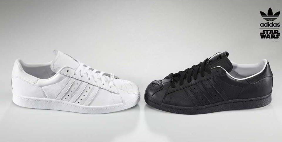 Adidas sort une gamme de baskets Star Wars customisables