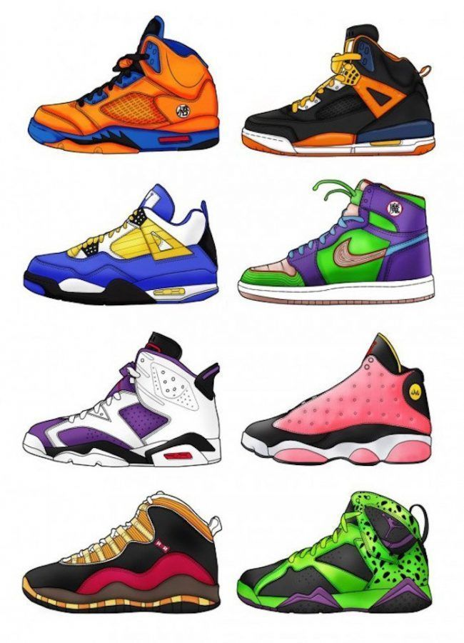 Les sneakers Dragon Ball Z arrivent en France #12