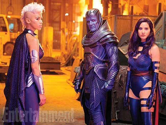 X-Men Apocalypse : 11 photos officielles du tournage #13