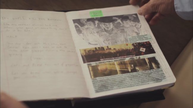 Des images du journal du Joker tenu par Heath Ledger #2