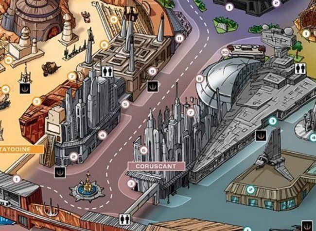 Il imagine tout un parc d'attractions Version Star Wars