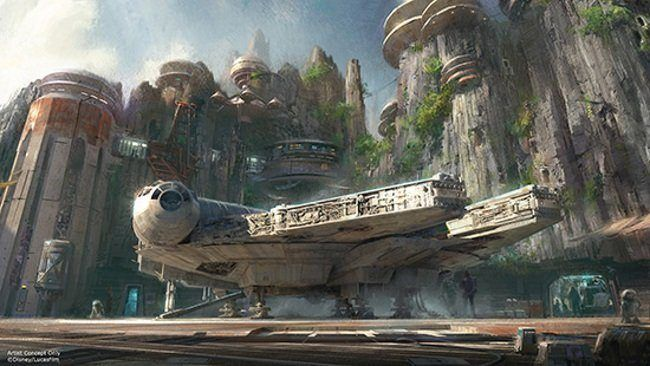 Des parcs d'attraction Star Wars aux Etats-Unis