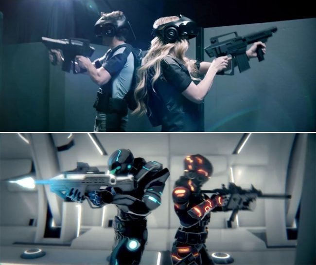 The VOID : un parc d'attraction en réalité virtuelle 4D #3