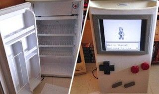 Il construit un frigo Game Boy 100% opérationnel