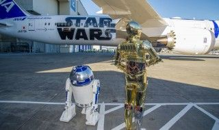 Inauguration du Boeing R2-D2 à Seattle