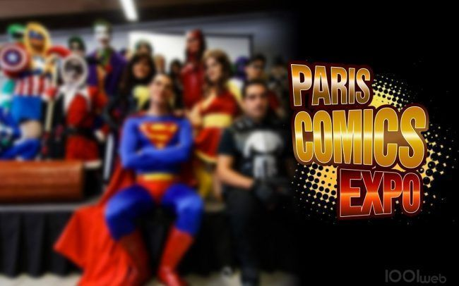 Paris Comics Expo 2016 #1