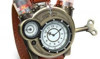 Tesla Watch : une superbe montre Steampunk