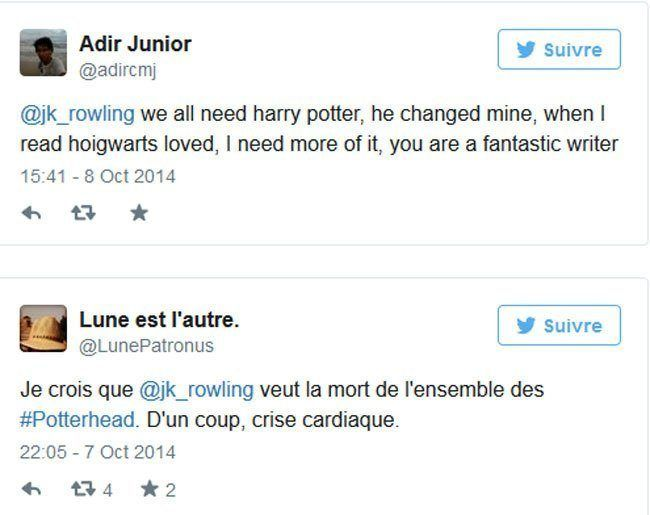J.K. Rowling confirme un 8ème Harry Potter : Harry Potter et l'enfant maudit #5