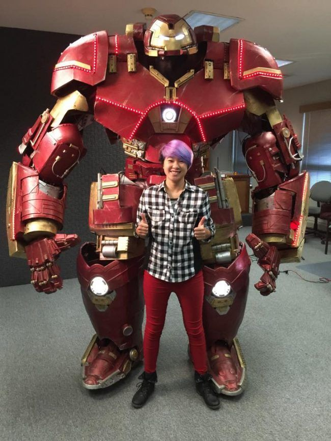 Ils construisent une vraie armure Hulkbuster opérationnelle