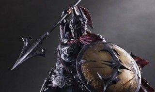 Une sublime figurine Batman / Spartiate signée Square Enix