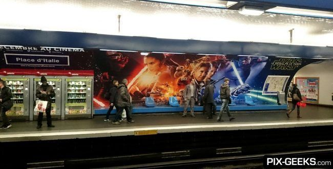 Star Wars Episode VII dans le Metro à Paris #7