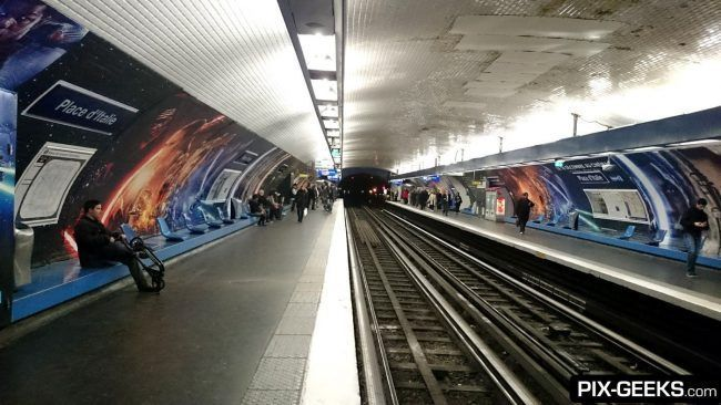 Star Wars Episode VII dans le Metro à Paris #2